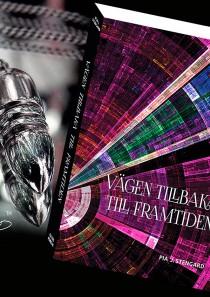 """Paketpris 20% – Silverpendel + boken """"Vägen tillbaka till framtiden"""""""