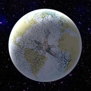 Rätt-globe-träd